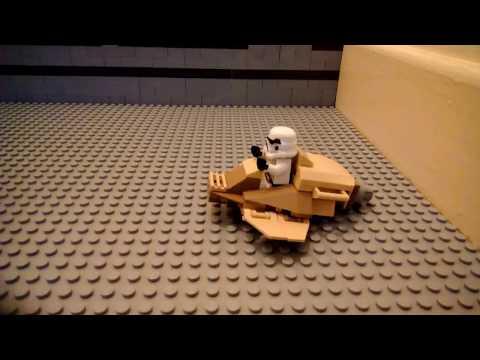How To Make A Lego Spaceship!