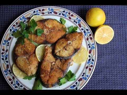Jamaican Fried King Fish