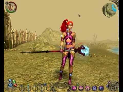 Sacred 2 Fallen Angel High Elf Full Special Armor Set Glimborin's Garments of Mutation