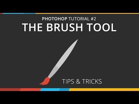 Photoshop Tutorial #2- Brush Tool Tips & Tricks