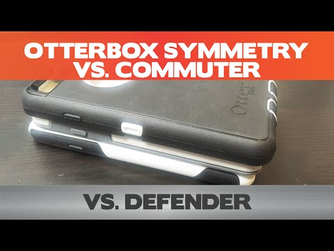 Otterbox Defender vs Commuter vs Symmetry - iPhone 6 case comparison