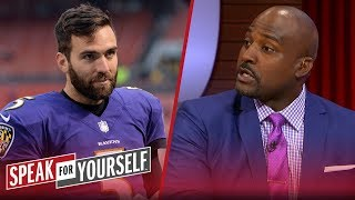 Marcellus Wiley reacts to Joe Flacco reportedly being traded to Broncos | NFL | SPEAK FOR YOURSELF