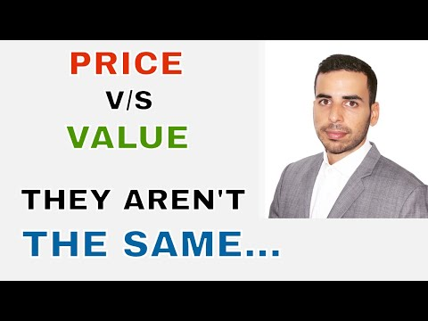 Price of a stock VS Value of a stock - indian stocks basics - huge profit indi