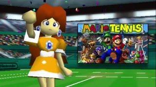 Mario Tennis 64 - Daisy Impression