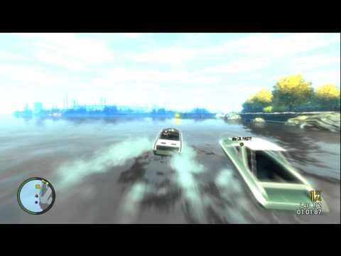 Grand Theft Auto IV: Boat race