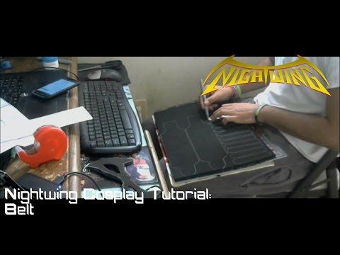 Nightwing Cosplay Tutorial : Belt