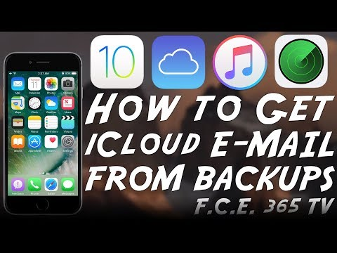 iOS 10.3.3 / 10.3.2 - Get the iCloud E-mail / Apple ID From an iTunes Backup