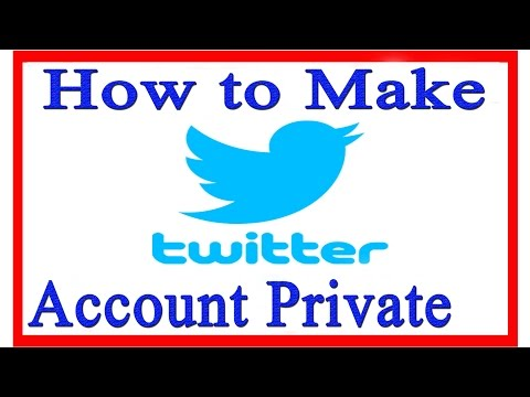 How to Make Twitter Account Private | How to Make Twitter Profile Private