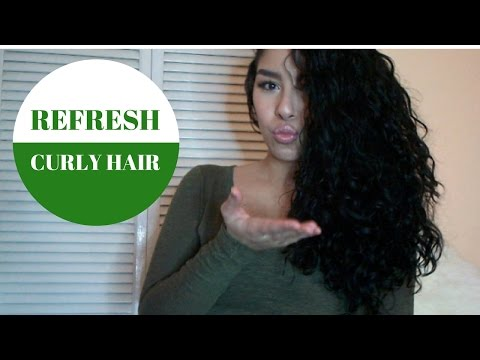 Refresh Curly Hair | jiannajay