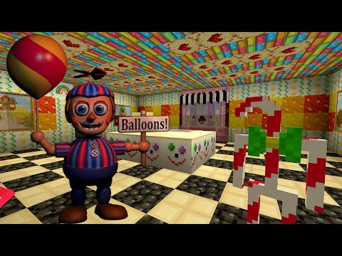 Minecraft Xbox - Five Nights At Freddy's 12 - Candy Shop