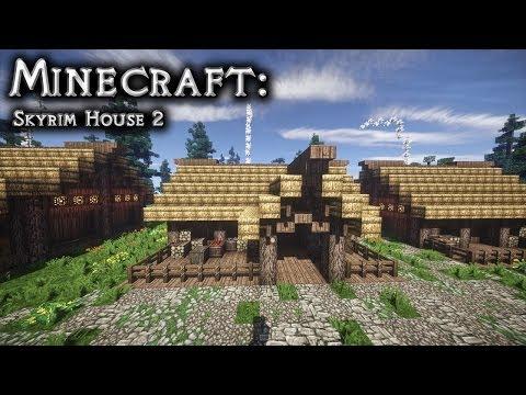 Minecraft: Skyrim House Tutorial 2