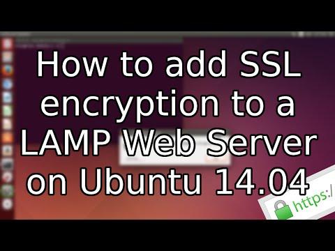 Tutorial: How to add SSL to a LAMP Web Server on Ubuntu 14.04 (2015)