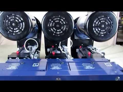 AutoDrill 5260-6 SkipFeed Self Feeding ER32 Drillers - Close C-C
