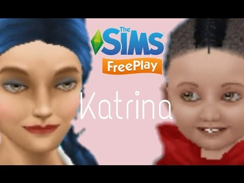 Sims Freeplay- Let's Play 'Katrina' Ep.11| Katrina ages up