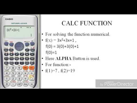 How to solve function by using calculator | Casio fx 991 es plus | The calculator King