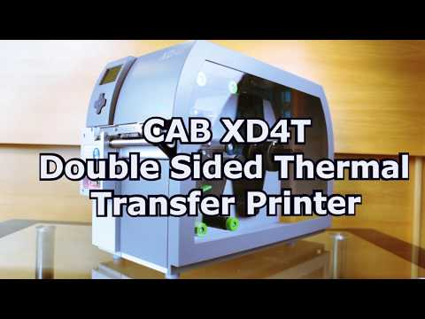 CAB XD4T Double Sided Thermal Transfer Printer