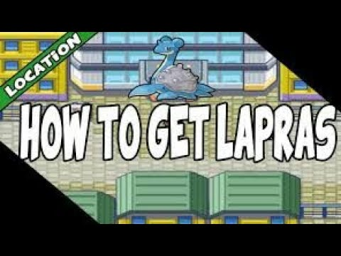 How to get Lapras and Card Key  in Pokemon Leaf🌿Green/Fire🔥Red
