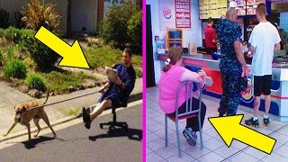 The Funniest Acts Of Laziness!