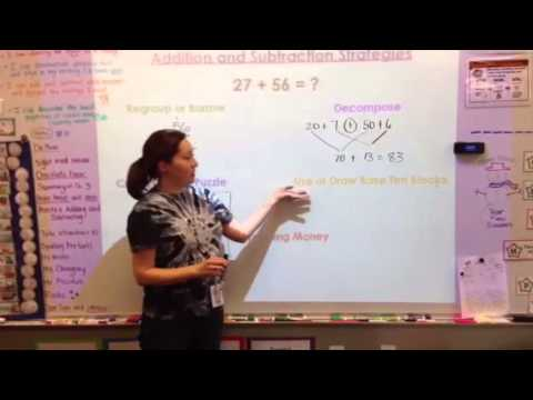 2nd Grade Addition and Subtraction Strategies