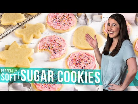 How to Make Perfectly Soft Sugar Cookies | The Stay At Home Chef