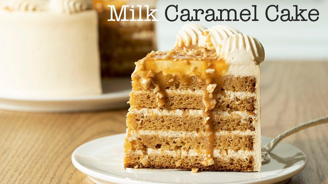 그대로 따라하면 이대로 나옵니다. 러시안 밀크카라멜 케이크 So Addictive Milk Caramel Cake (Russian Golden Key Cake)