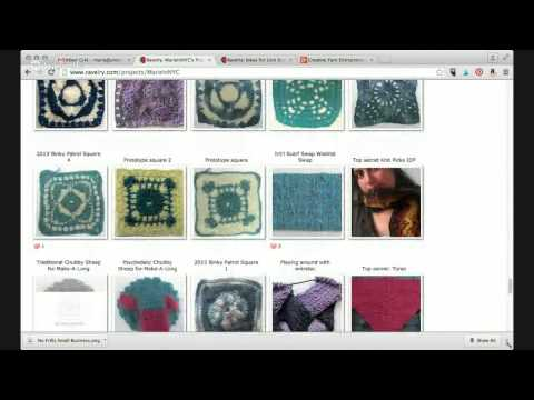 Creative Yarn Entrepreneur Show: Getting The Most Out of Ravelry For Your Yarn-Related Business