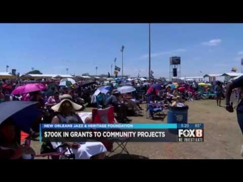 2016 Community Partnership Grants TV News Coverage 10 15 16