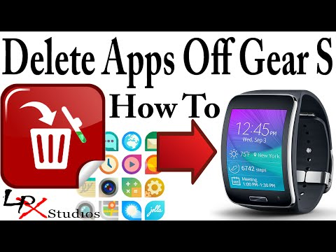 How To Delete Apps Off the Samsung Gear S