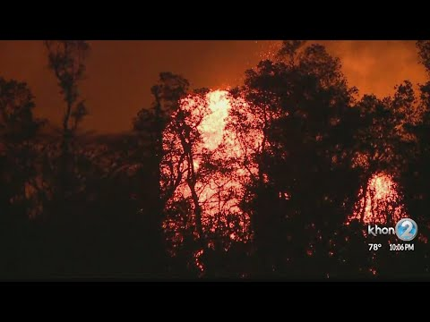 Lava flow prompts new evacuation order, portion of Highway 132 shut down