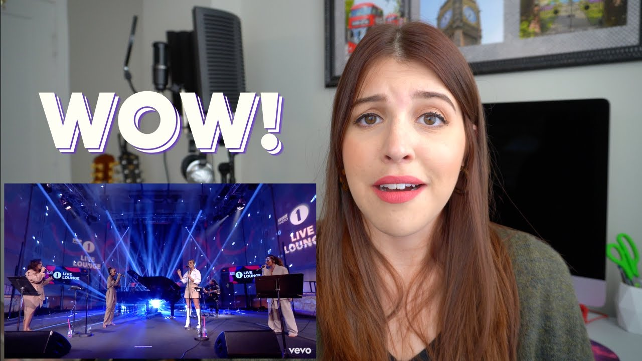 """Reacting to Little Mix """"Falling"""" - Harry Styles Cover (aka being mesmerized for 5 minutes)"""