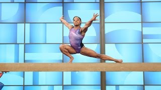 World Champion Gymnast Goes for the Gold