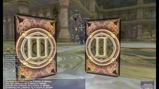 Ffxi Master Trial - Black And White (odin And Alexander)