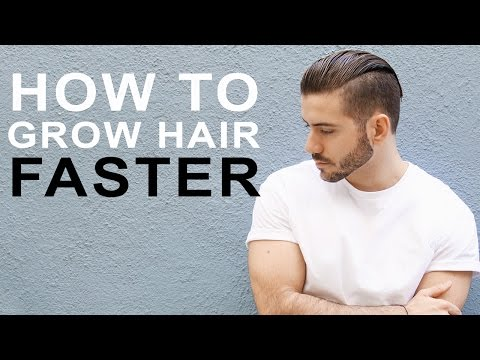 HOW TO GROW HAIR FASTER & LONGER | Tips to grow men's hair