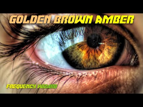 Get Golden Brown Amber Eyes Fast! Subliminals Frequencies Hypnosis Spell FREQUENCY WIZARD