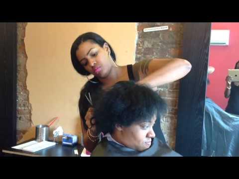 How to do a short hair cut