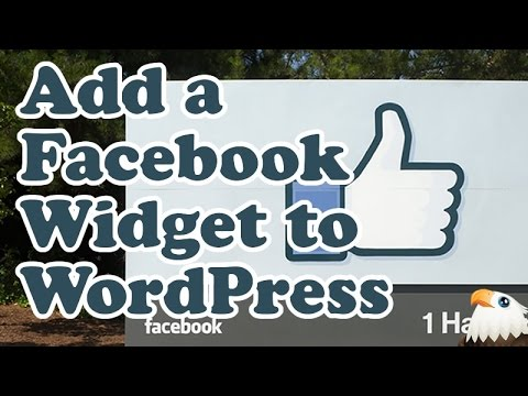 How to add a Facebook page widget to WordPress