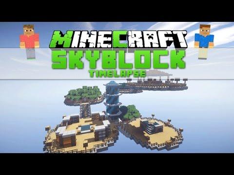 Minecraft Timelapse - Skyblock [Download]