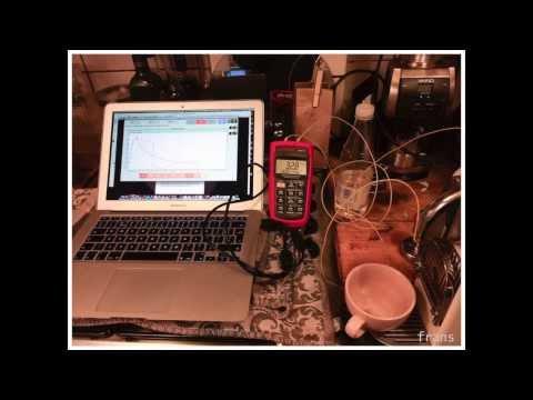 Nespresso brew temp measurement