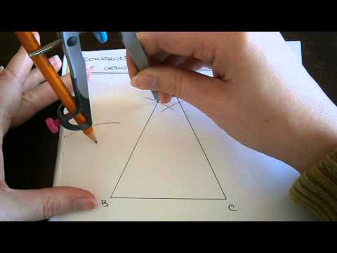 Construction No. 22 - The Orthocentre of a Triangle