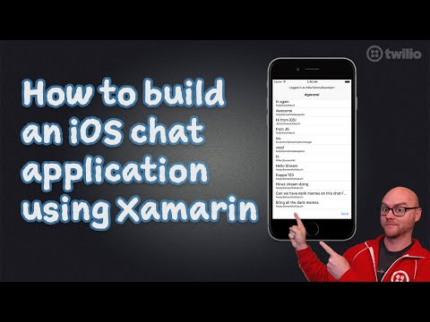 How to build iOS chat apps using Xamarin