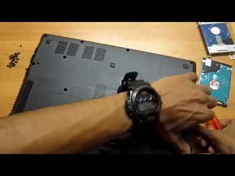 Laptop Hard-disk upgrade guide [Acer aspire 4738z]