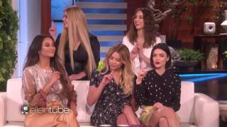 ELLEN SHOW THE PRETTY LITTLE LIARS 12 DAYS CHALLENGE Watch AS THEY TRY WIN PRIZES FOR AUDIENCE! WOW+