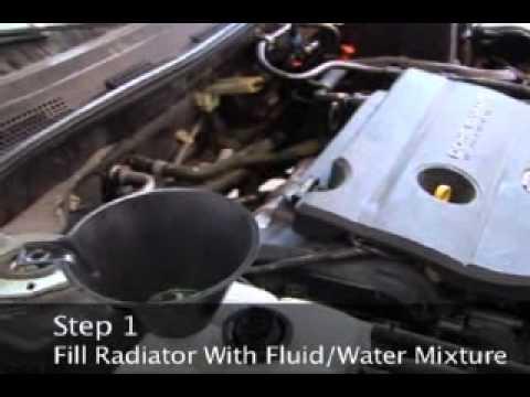 How to Change Radiator Fluid