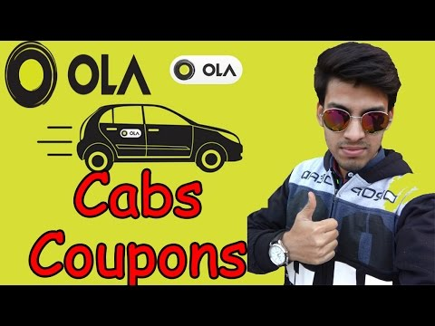 Olacabs Coupons- 75 Rs off on 3 Rides in Delhi