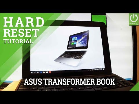 Hard Reset ASUS T100 Transformer Book - Password Removal