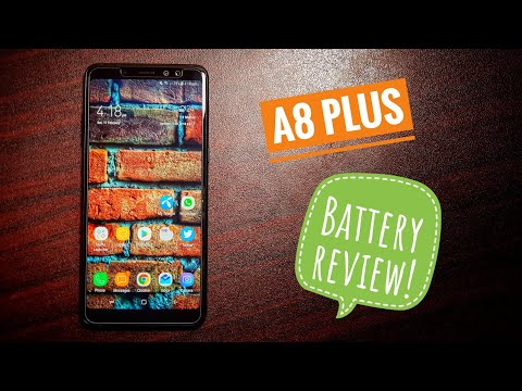 Samsung Galaxy A8 Plus battery review!