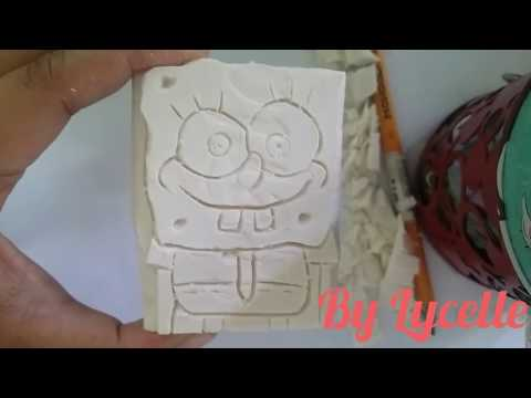 Soap Carving - Spongebob