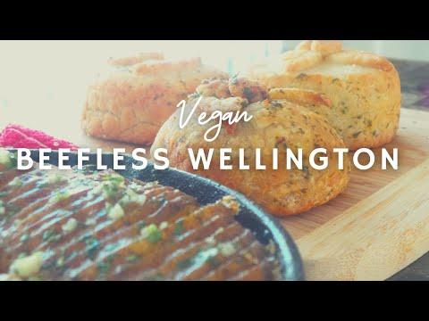 Beefless Wellington w/ Scalloped Potatoes | How To Make A Vegan Beef Filet| GF |  Korenn Rachelle