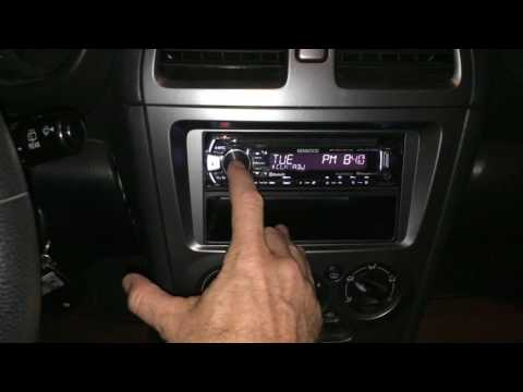 How To Set The Clock On A Kenwood KDC Car Stereo