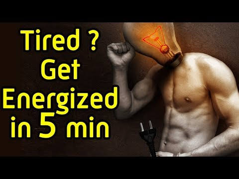 How to Boost your Energy for the whole day during 5 minutes in the morning - How to increase energy